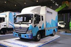 福田 欧马可智蓝 8.3T 自动挡 3.8米排半纯电动厢式轻卡109.7kWh