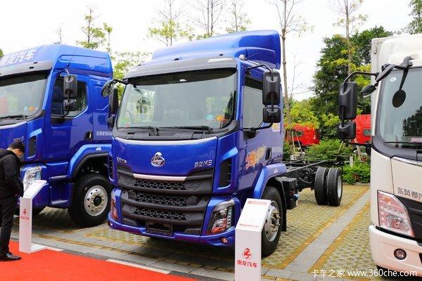 东风柳汽 新乘龙M3中卡 200马力 4X2 6.8米厢式载货车(国六)
