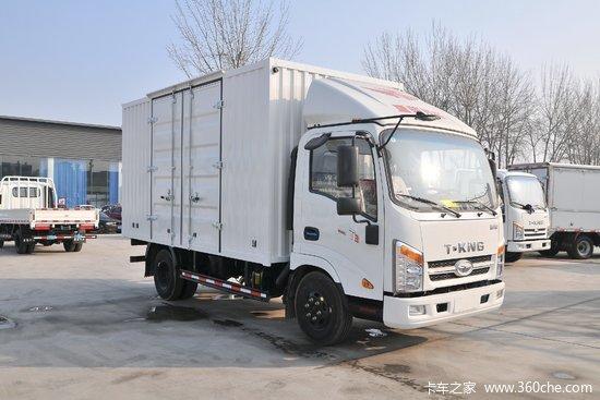 唐骏欧铃 T3系列 旗舰版 110马力 4.15米单排厢式轻卡(ZB5042XXYJDD6V)