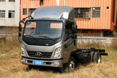 现代商用车 泓图300 116马力 4.18米单排厢式轻卡(CNJ5041XXYZDB33V)