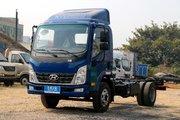 四川现代 泓图200 116马力 4.095米单排厢式轻卡(CNJ5040XXYEDF33V)
