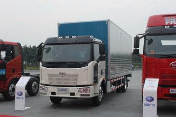 一汽解放 J6L中卡 140马力 4X2 6.8米厢式载货车(CA5160XXYP62K1L3E4)