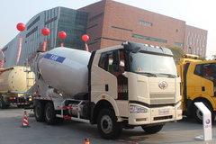 一汽解放 J6P 350马力 6X4 混凝土搅拌车(复合型)(CA5250GJBP66K2L2T1E)