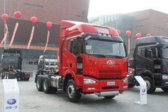 解放 J6P重卡 350马力 6X4 牵引车(CA4250P66K2T1A1EX)
