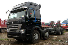 中国重汽 HOWO A7重卡 380马力 8X4 载货车(底盘)(ZZ1317N4667N1H) 卡车图片