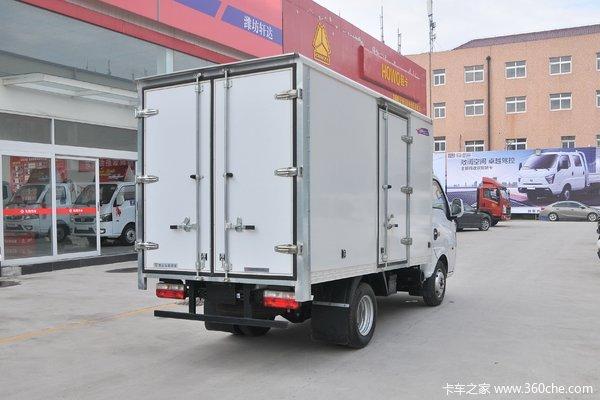T5(原途逸)3.4米厢货限时促销中 优惠0.1万