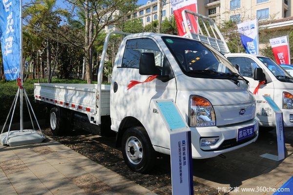 降价促销东莞凯马锐航载货车仅售6.66万