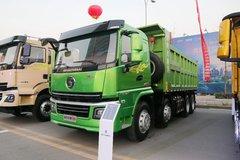 陕汽商用车 轩德翼6 强劲版 300马力 8X4 6.2米自卸车(国六)