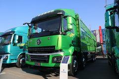 陕汽商用车 轩德翼3 轻量化版 400马力 8X4 9.5米仓栅式载货车(国六) 卡车图片