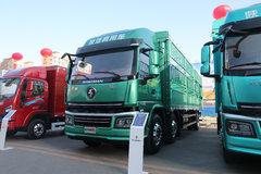 陕汽商用车 轩德翼6 轻量化版 260马力 6X2 9.6米仓栅式载货车(国六) 卡车图片