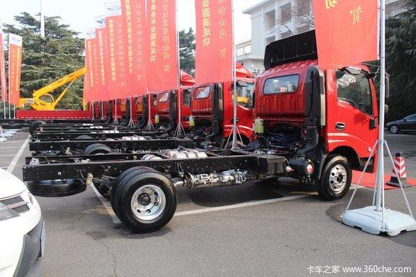降价促销漯河唐骏T7载货车仅售10.88万