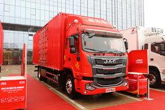 江淮 格尔发A6LII中卡 220马力 4X2 7.8米厢式载货车(重汽10挡)(国六)(HFC5181XXYP3K2A57KS)图片