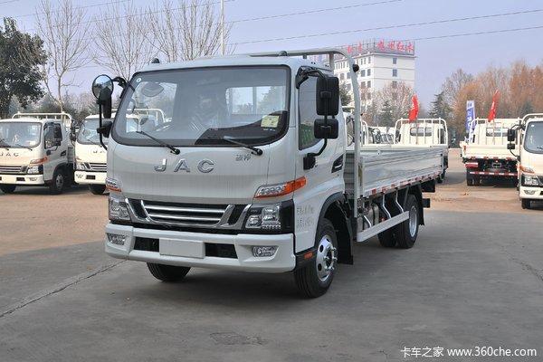 江淮 骏铃V6 131马力 4.18米单排栏板轻卡