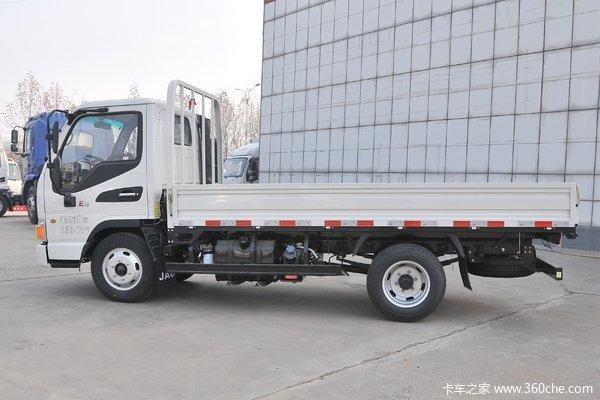 骏铃E3单排95马力33轴距在贵州江淮店限时促销中优惠0.3万