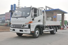 江淮 骏铃V6 131马力 3.85米排半栏板轻卡(HFC1043P91K7C2V) 卡车图片