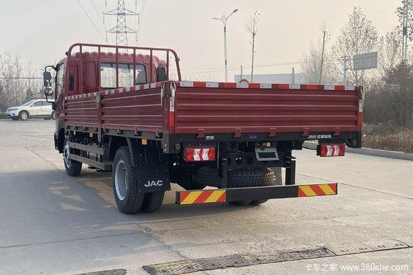 回馈客户徐州骏铃V8载货车仅售14.48万