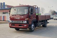 江淮 骏铃V8 154马力 5.2米排半栏板轻卡(HFC1141P91K1C6V)