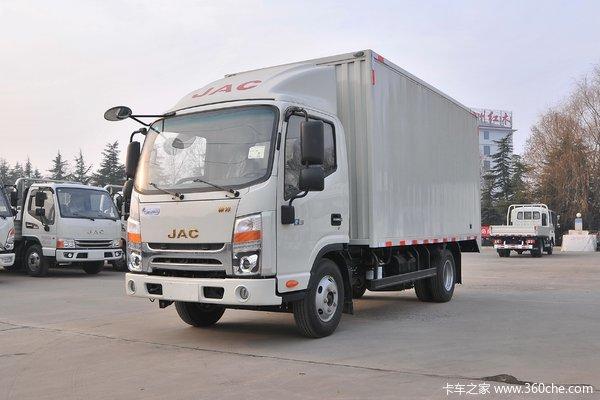江淮 帅铃Q3 120马力 4.13米单排厢式轻卡