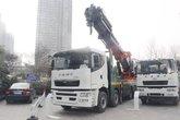 华菱 汉马H9 460马力 10X4 随车吊(HN5530A46C7M6J)