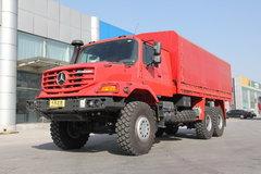 奔驰 Zetros重卡 330马力 6X6厢式载货车(型号2733)