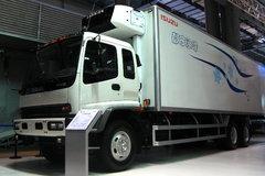 庆铃 五十铃F系列 260马力 6X4 冷藏车(QL5220XLCGVFZJ)