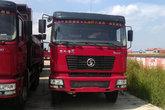 陕汽 德龙F2000重卡 380马力 8X4 8米LNG自卸车(SX3315DT456TL1)