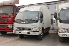 江淮 骏铃 120马力 4.2米单排厢式轻卡 卡车图片