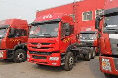 青岛解放 新悍威(J5M)重卡 336马力 6X4 牵引车(CA4256P1K2T1EA80)
