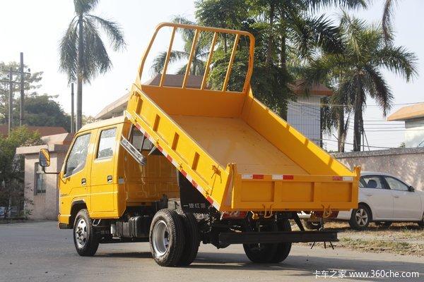 优惠0.5万广州解放经典1系自卸车促销中