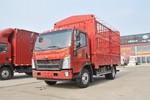 中国重汽HOWO 悍将 160马力 4.15米单排仓栅轻卡(速比4.333)(ZZ5047CCYG3315F144)图片