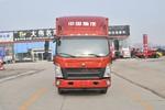 中国重汽HOWO 悍将 170马力 5.75米排半厢式轻卡(ZZ5187XXYG4515E1)图片
