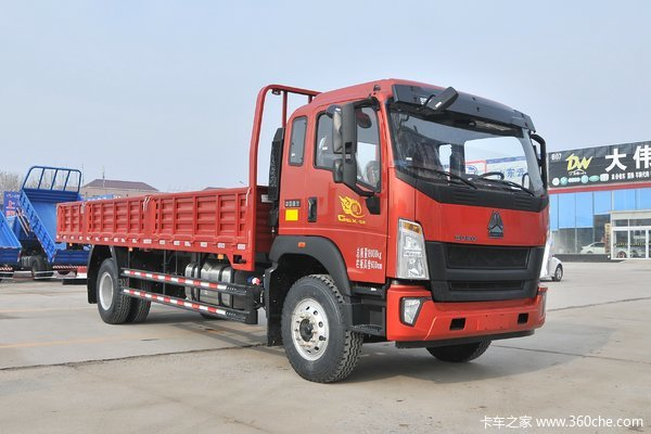 降价促销重汽豪瀚G5X载货车仅售16.50万