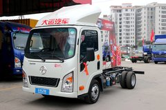 大运  102马力  3.67米单排厢式小卡(CGC5041XXYHDB33E) 卡车图片