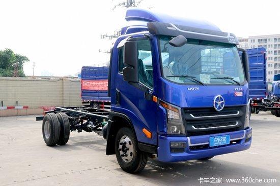 大运 祥龙 160马力 4.12米单排厢式轻卡(CGC5048XXYHDF33F)