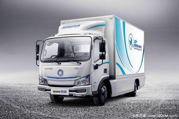 降价促销欧马可智蓝电动轻卡售23.28万