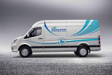 福田 图雅诺智蓝 4.3T 5.99米纯电动厢式运输车(续航360km)69.81kWh图片