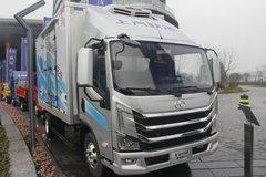 跃进 快运H500 150马力 4.17米单排厢式轻卡(SH5042XXYZFDCWZ6) 卡车图片