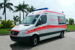 奔驰 凌特 150马力 4X2 监护型救护车(炎帝牌)