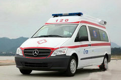 奔驰 威霆 211马力 4X2 负压救护车(炎帝牌)