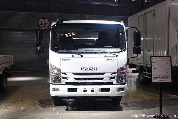 降价促销五十铃KV100载货车仅售13.20万