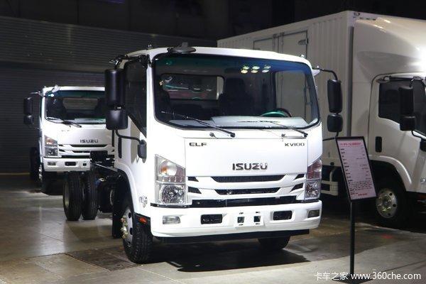 五十铃KV100载货车济南市火热促销中 让利高达0.5万