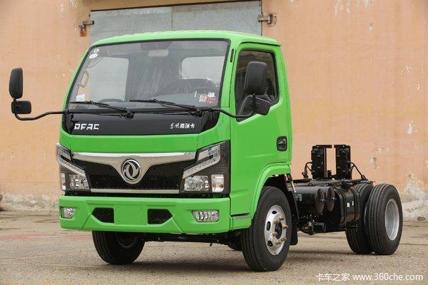 东风 福瑞卡R5 95马力 4X2 3.5米自卸车