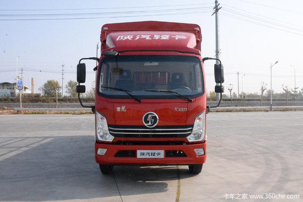 陕汽轻卡 德龙K3000 舒适型 130马力 4.18米单排仓栅式轻卡