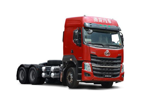 乘龙H7创富版自重轻,油耗低,安全系数高。