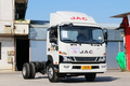 江淮 骏铃V8 170马力 4X2 4.03米冷藏车(HFC5043XLCP91K9C2V)图片