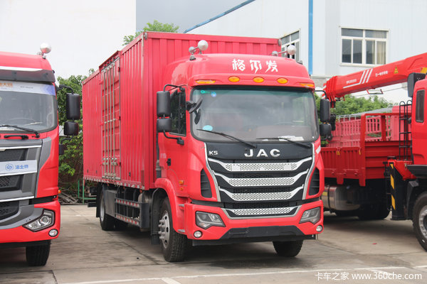 降价促销格尔发K5载货车仅售18.73万