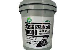 龙蟠 四季通V8000 20W-50 CI-4 合成型柴机油 18L