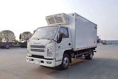 江铃 顺达窄体 116马力 4X2 4.15米冷藏车(程力威牌)(CLW5043XLCJ6)