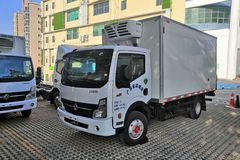 东风 凯普特K6-N 160马力 4X2 4.09米冷藏车(EQ5041XLC5CDFAC)