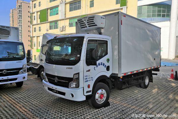 东风 凯普特K6-N 160马力 4X2 4.09米冷藏车